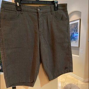 Men's Size 34 Rusty Gray Shorts